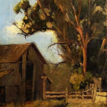Earl Collman Martin Abandoned Barn 24x20 Oil on Canvas