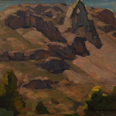 Edgar Payne Sierra Study 14x18 Oil on Board