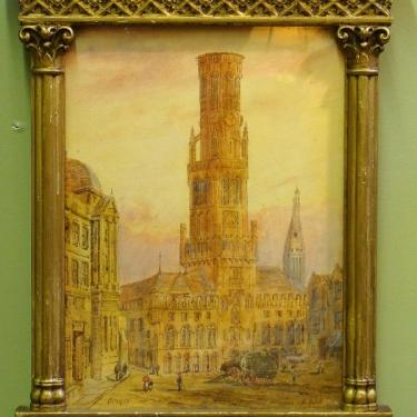 Edward Nevil Brussels 14x11 Watercolor