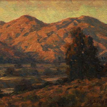 Gary Ray California Hills 8x10 Oil on Board
