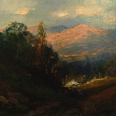 Early Light by Leola Dixon - Oil Painting 9x12