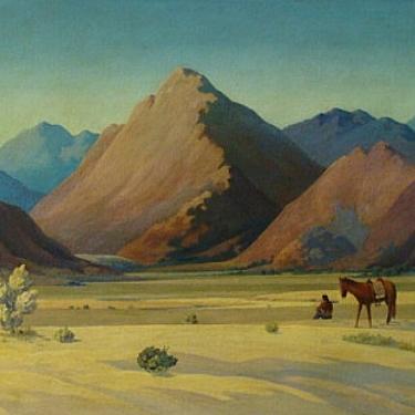 William Perry Solitude 26x34 Oil