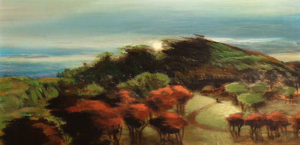 Big Sur, California Painting, AF Snyder, Oil painting