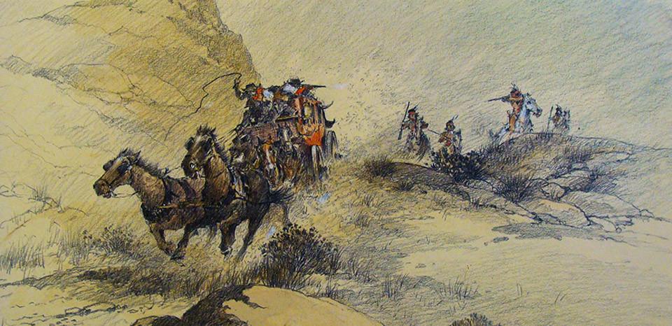 Lloyd Harting Cowboys and Indians