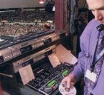 Red Wings DJ Spins A Spell @ The Joe ~ Front Page, Detroit Free Press. March 20, 2002