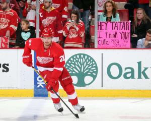 Tomas Tatar Warm Ups