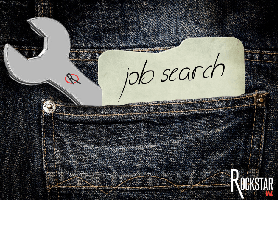 Your HVAC/R Job Search Starts with Your Resume: Back Jean pocket with wrench and note