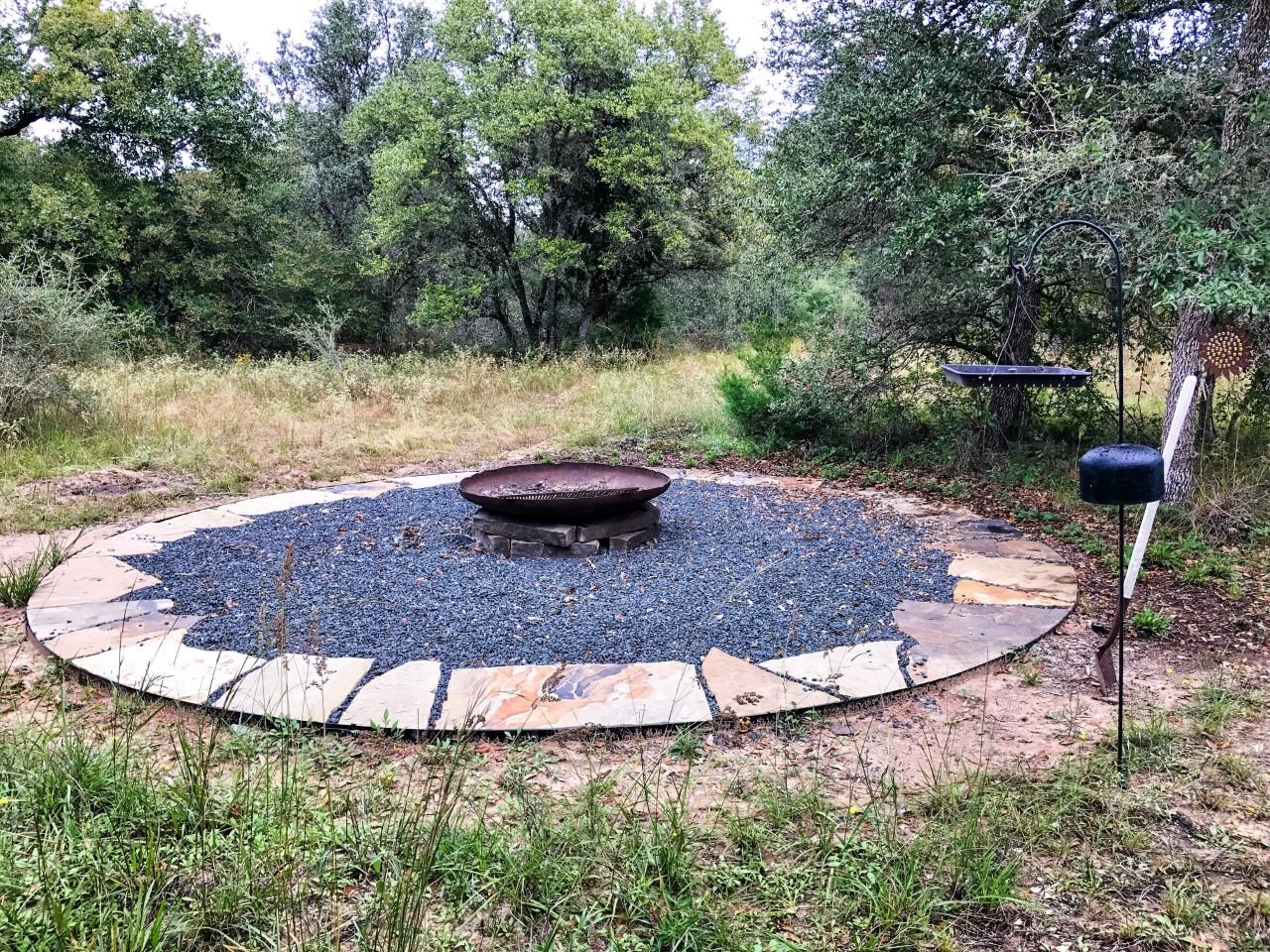 ranch landscaping, modern ranch, texas ranch, texas landscaping, arid landscaping, texas native plants, blackstar gravel, modern landscaping, rh factor, grove hill farm