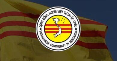 Thông Báo: Kết quả cuộc bầu cử BCH Cộng Đồng Người Việt Tự Do Úc Châu