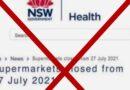 Cảnh báo của NSW Health về lời khuyên phong tỏa giả mạo