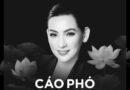 Cáo Phó ca sĩ Phi Nhung được con gái ruột đăng trên trang cá nhân