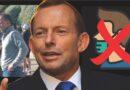 Cựu Thủ tướng Tony Abbott bị phạt vì không đeo khẩu trang