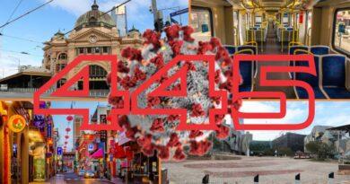 14/9: Lộ trình tự do Melbourne sẽ thông báo vào Chủ Nhật; 445 trường hợp mới