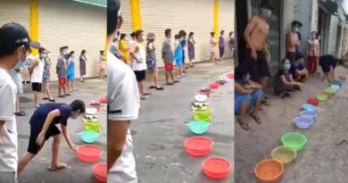 Video: Người Việt Nam đứng đầy đường xin lương thực