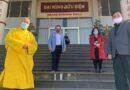 Chùa Quang Minh chuyển thành trung tâm tiêm chủng Covid-19