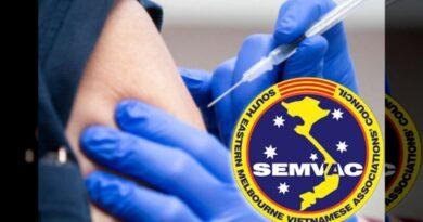 SEMVAC Thông Báo: Chích Covid tại SEMVAC Thứ 7 & CN 16&17, 23&24/10