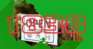 17/10: Phong tỏa kết thúc Thứ Năm, nhiều hạn chế được giảm bớt so với kế hoạch ban đầu; 1,838 Trường hợp mới