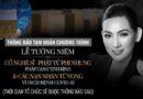 Hoãn lễ tưởng niệm ca sĩ Phi Nhung vì dịch Covid-19