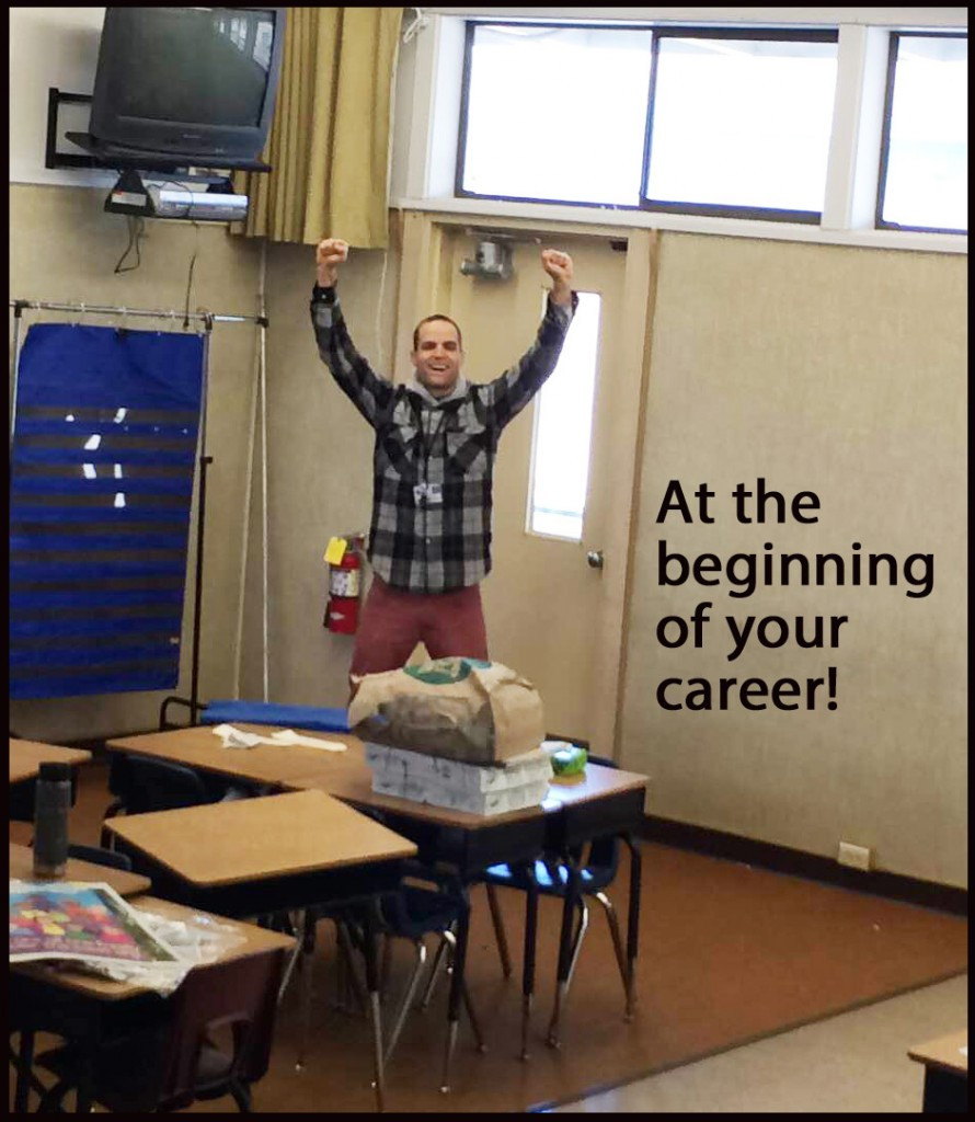 At the Beginning of Your Career