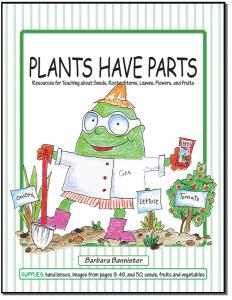 plants have parts