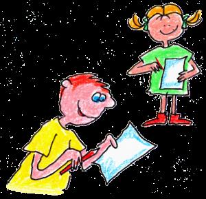 blog girl and boy grading