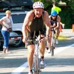 Jon on Bike Clear Lake Tri