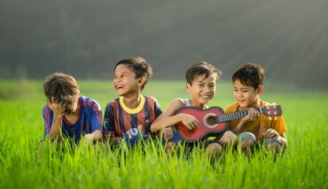 Kids, as photographed by Robert Collins for Unsplash