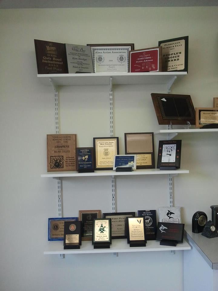 Particle Board Plaques