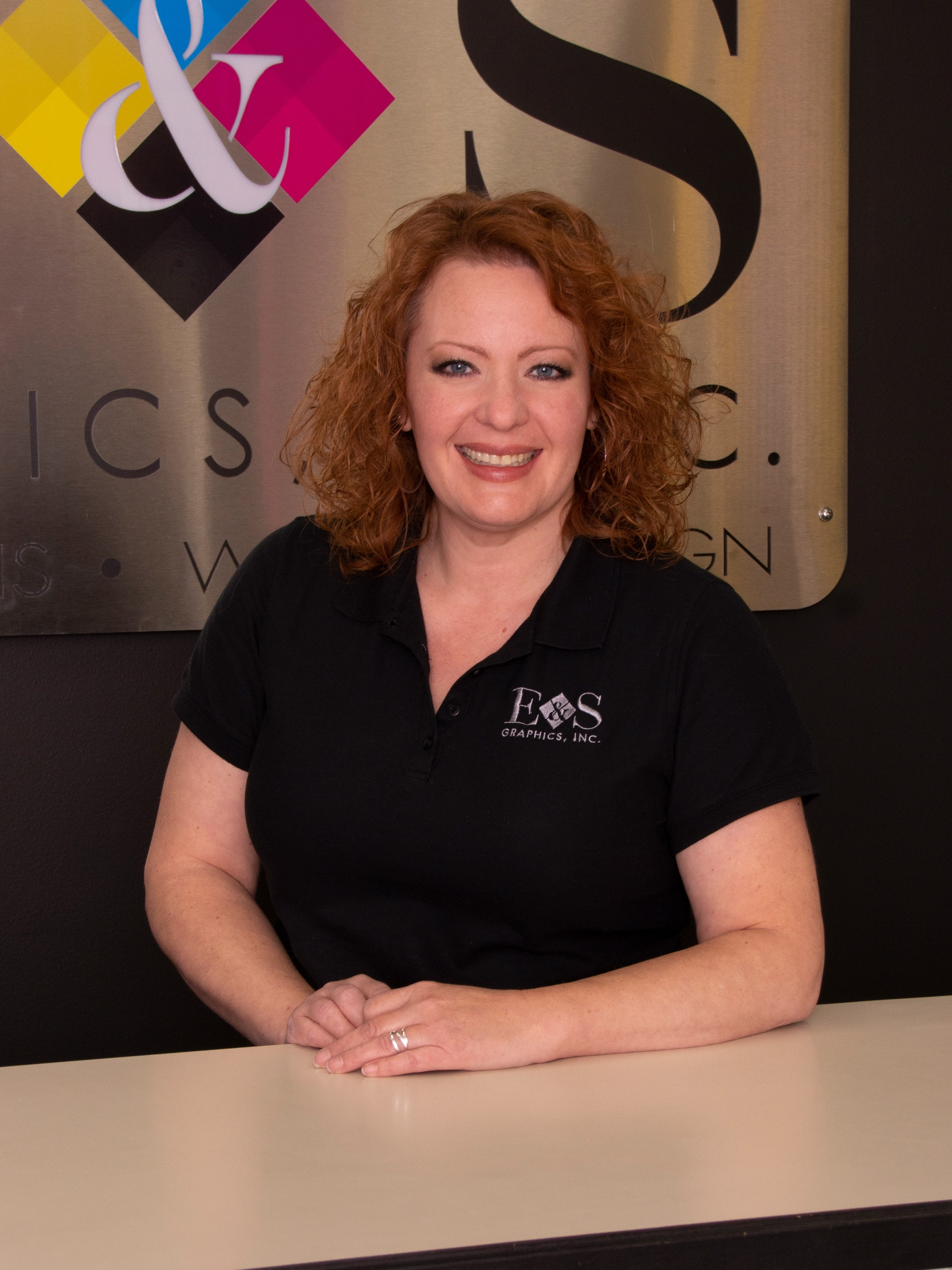 Kate Sullivan, Sign Production & Project Manager, E & S Graphics