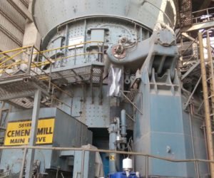 On cement mill