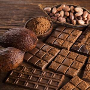 Chocolates y bebidas
