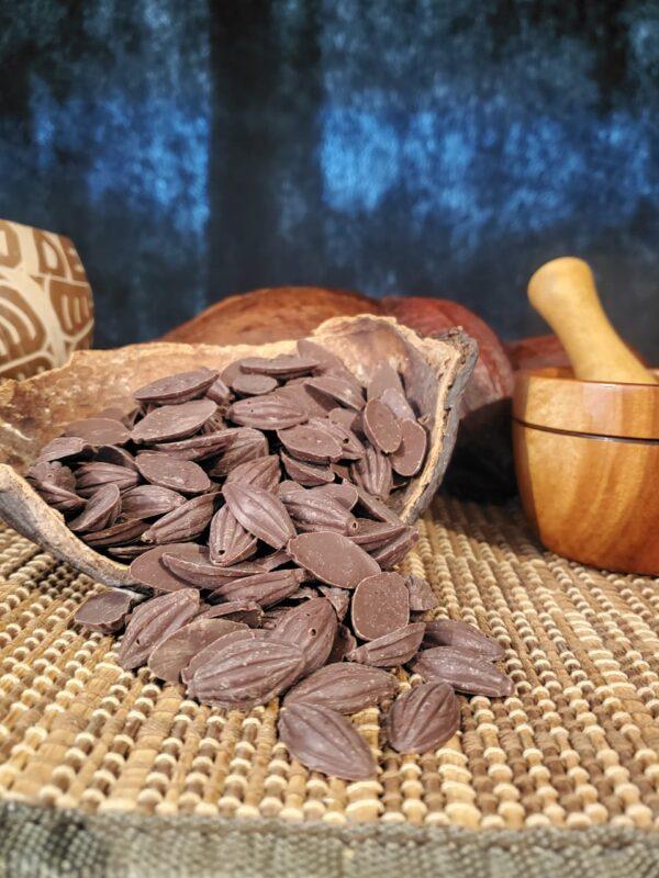 Grajeas de chocolate