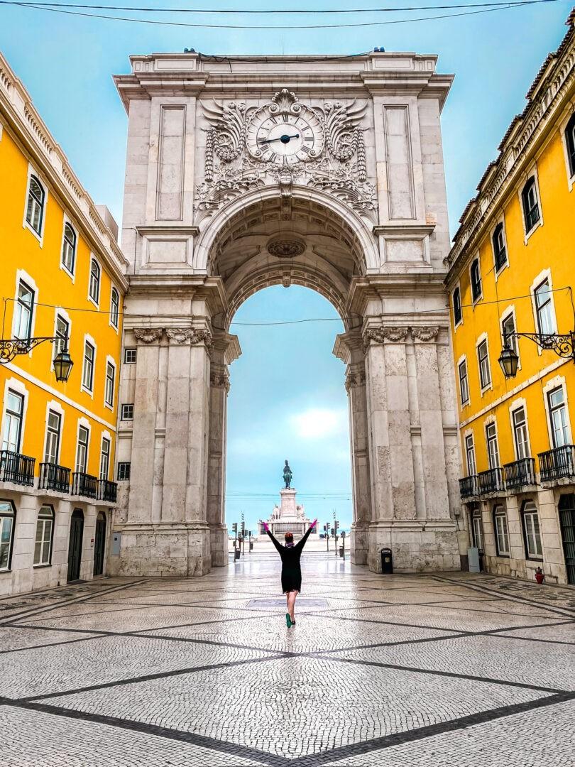 Portugal Lisbon Arco da Rua Augusta Marilee Paul Kostadimas Spotlight Sojourns PT_IMG_4723