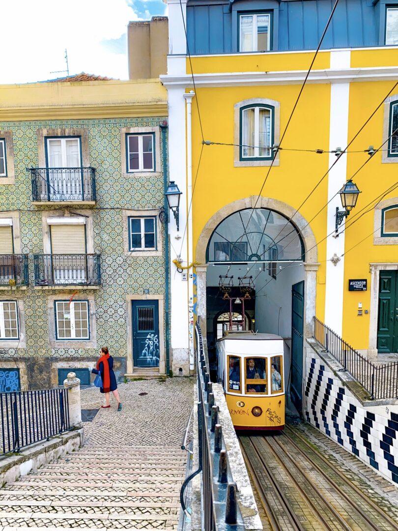 Portugal Lisbon Bairro Alto Elevador da Bica Tram Marilee Paul Kostadimas Spotlight Sojourns PT_IMG_4410