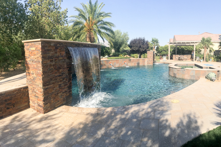 backyard las vegas pool installer