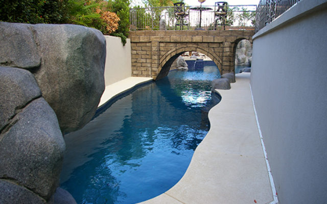 vegas custom pool