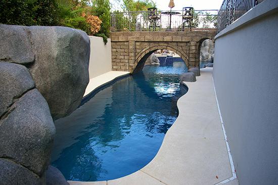 vegas custom pool