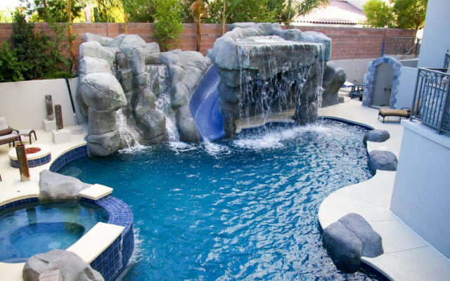 vegas waterfall builder