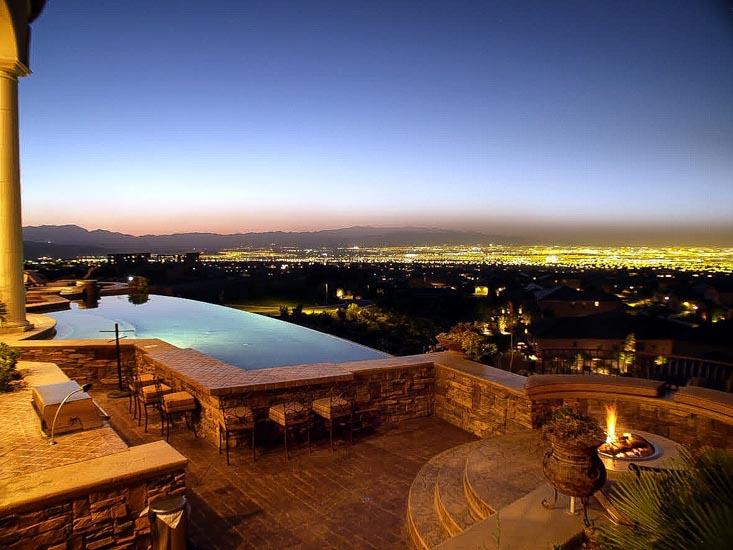 luxury residential las vegas pools