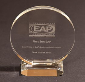 First Sun EAP Wins EAPA's Excellence in EA Business Development Award