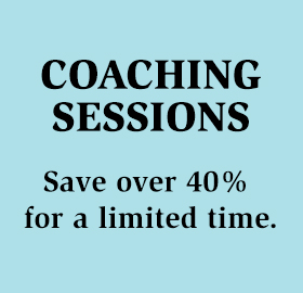 Coaching Sessions – Discounted for a limited time