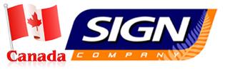 Canada Sign Company Toronto, Mississauga, Brampton, Oakville, Burlington, Hamilton, Milton, Bolton, Richmond Hill,