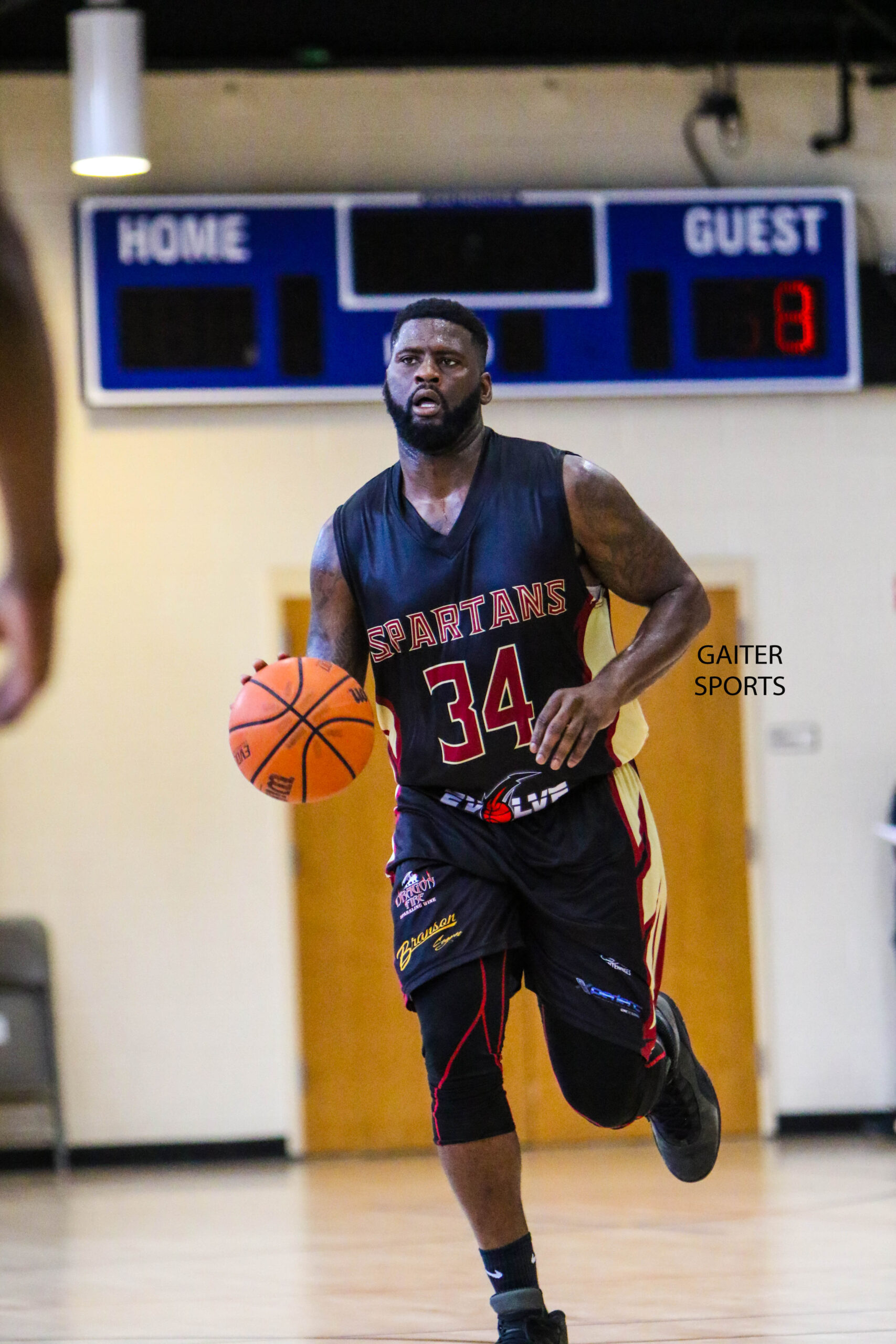 2019 Celebrity Basketball Game Georgia Spartans 130 Parysh Munroe