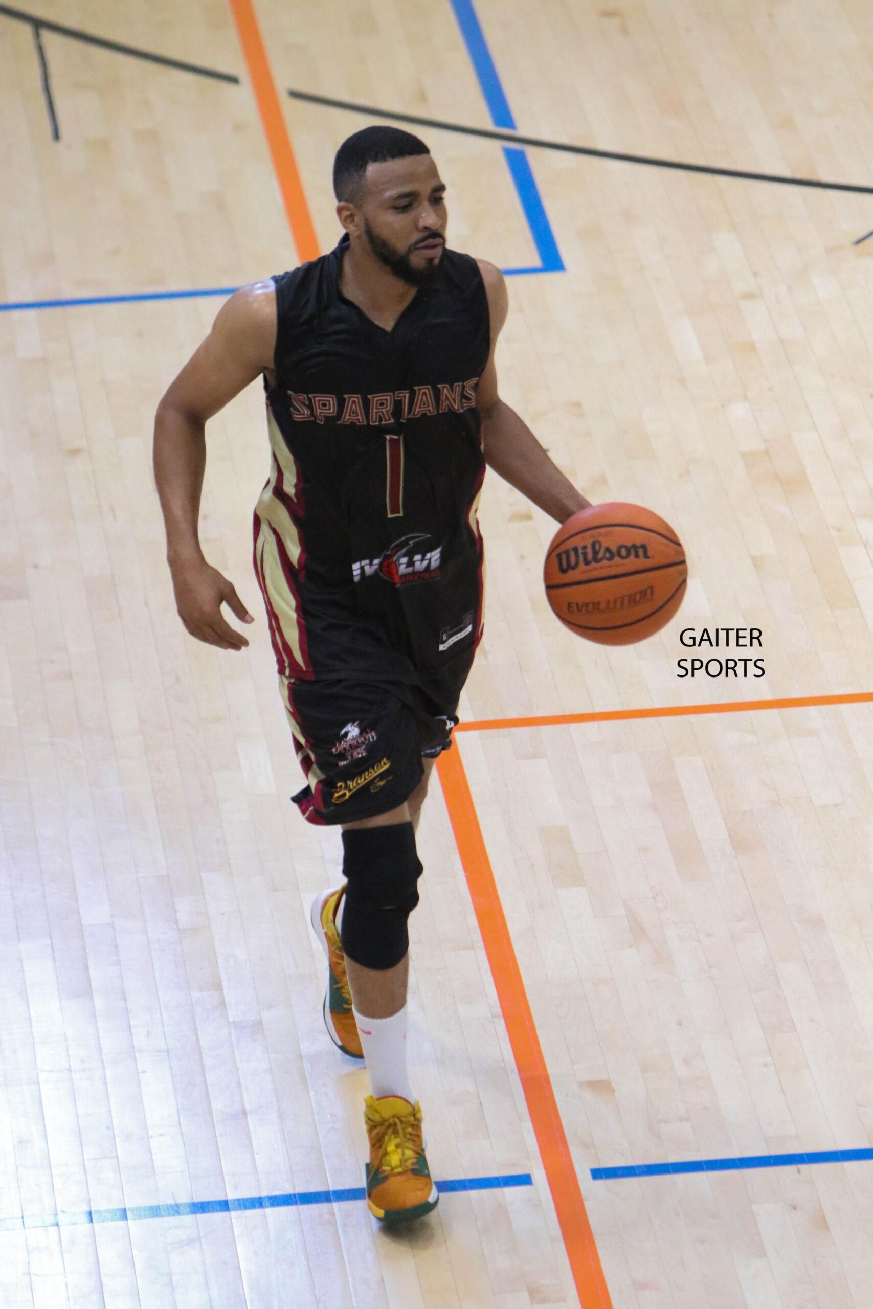 2019 Celebrity Basketball Game Georgia Spartans 24 Tony Brown