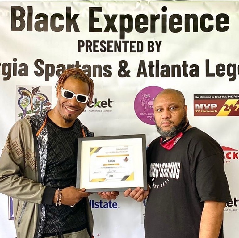 Posted @withregram • @indahousemedia InDaHouseMedia live at Black Experience Basketball @GeorgiaSpartans vs @atlantalegends with recording