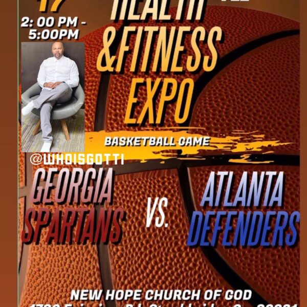 #ATL....10/17 2pm -5pm come check out the Health & Fitness Expo and Basketball Game!!! Of course #atlanta favorite basketball team