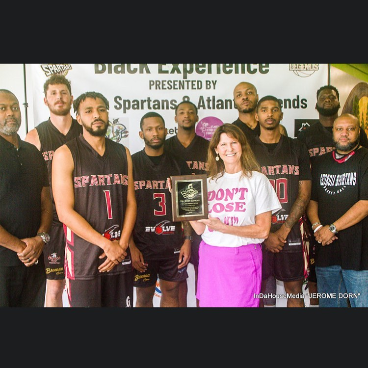 Meet the #georgiaspartans basketball special thanks to our #community sponsors #atlantafibroidcenter!!! To learn more about us web