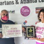 Thankful To Atlanta Fibroid Center For Being A 2021 Season Community Sponsor Georgia Spartans