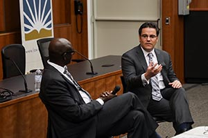 Fireside Chat with Rwandan Minister of Justice