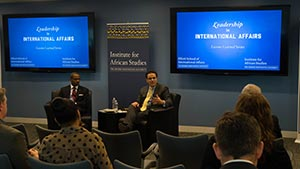 Harris Discusses the Outlook for Business and Investment in Africa